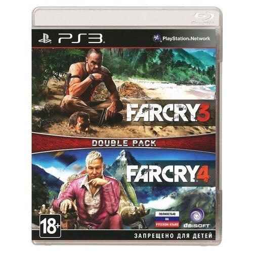 Игра для PlayStation 3 Far Cry 3 + Far Cry 4, полностью на русском языке