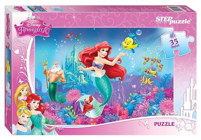 Пазл Step puzzle Disney Русалочка (91219), 35 дет.