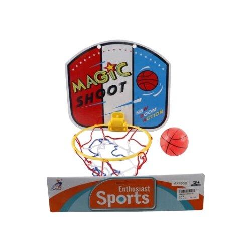 Купить Набор для игры в баскетбол Shantou Gepai (AX663-1B), Спортивные игры и игрушки