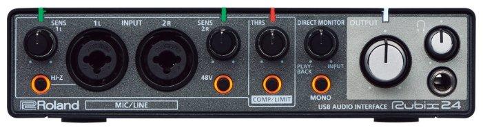 Студийные звуковые карты Roland Rubix24