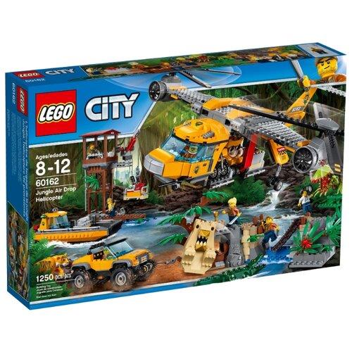 Конструктор LEGO City 60162 Вертолёт для доставки тяжёлых грузов lego city 60179 вертолёт скорой помощи lego