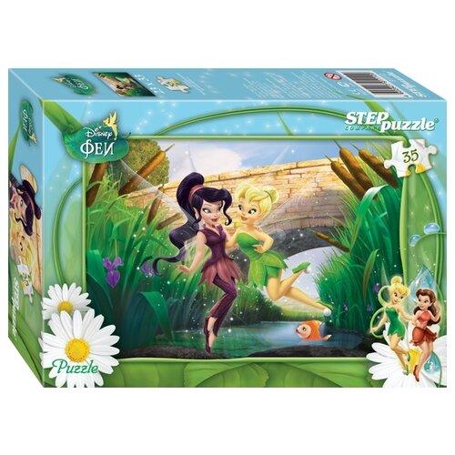 Купить Пазл Step puzzle Disney Феи (91110), 35 дет., Пазлы