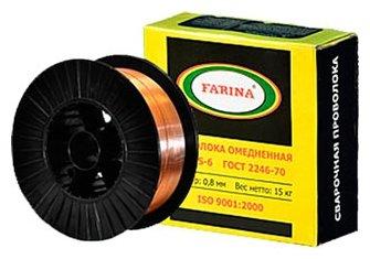 Проволока из металлического сплава FARINA ER70S-6 0.8мм 15кг