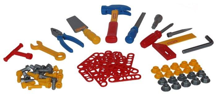 Полесье Набор инструментов №4 (72 элем. в пакете) (47182)
