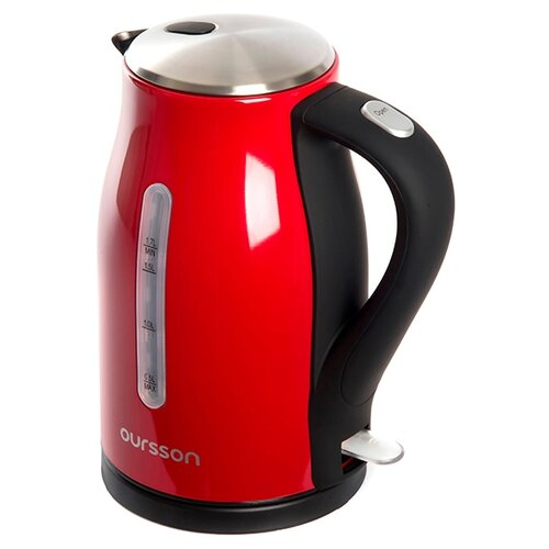 Фото - Чайник Oursson EK1760M, красный чайник oursson ek1760m 1 7l red