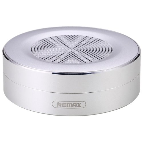 Портативная акустика Remax RB-M13 серебристыйПортативная акустика<br>