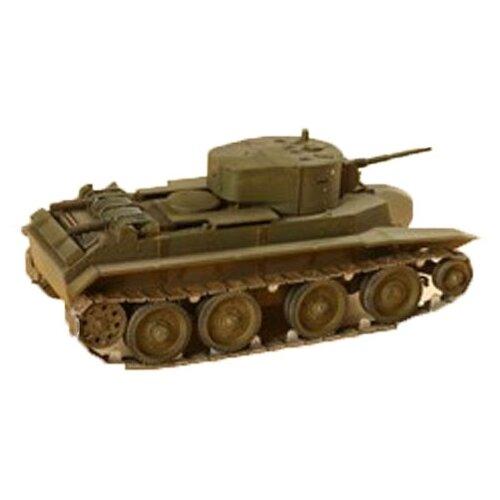 Купить Сборная модель ZVEZDA Советский лёгкий танк БТ-7 (3545) 1:35, Сборные модели