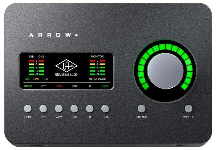 Внешняя звуковая карта Universal Audio Arrow