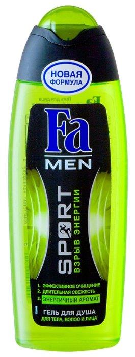 Гель для душа и шампунь Fa Men Sport Взрыв энергии
