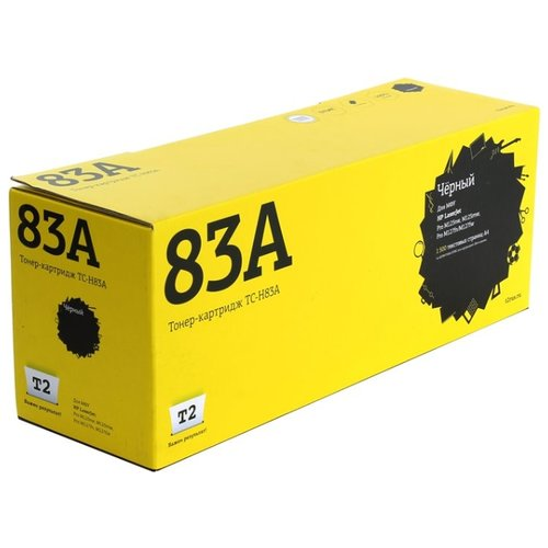 Фото - Картридж T2 TC-H83A, совместимый картридж t2 tc h272 совместимый