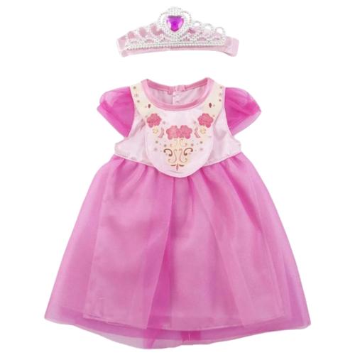 Junfa toys Платье с короной BLC18-D розовый