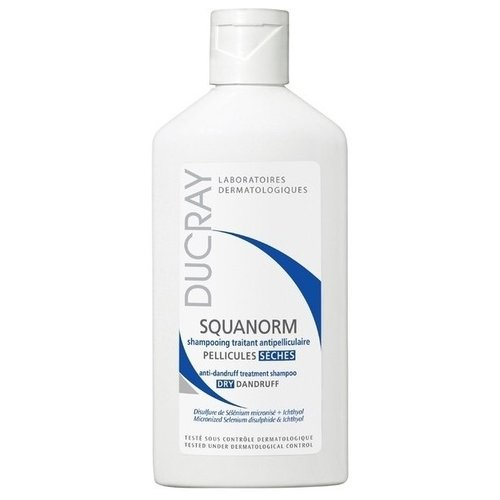 Ducray шампунь Squanorm Dry Dandruff 200 мл ducray kelual ds шампунь цена