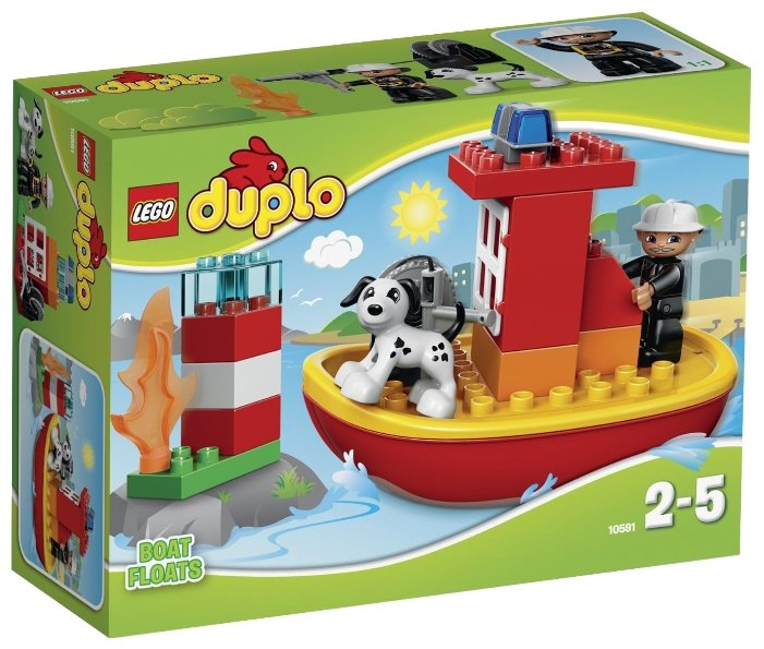 Классический конструктор LEGO Duplo 10591 Пожарный катер