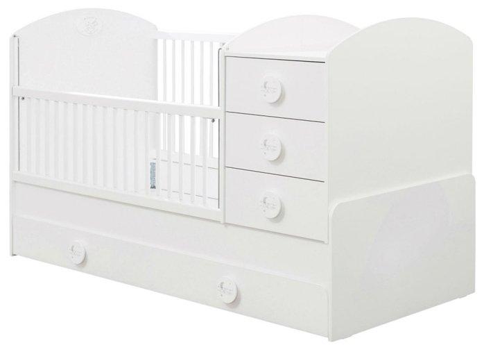 Кроватка Cilek Baby Cotton SL (трансформер)