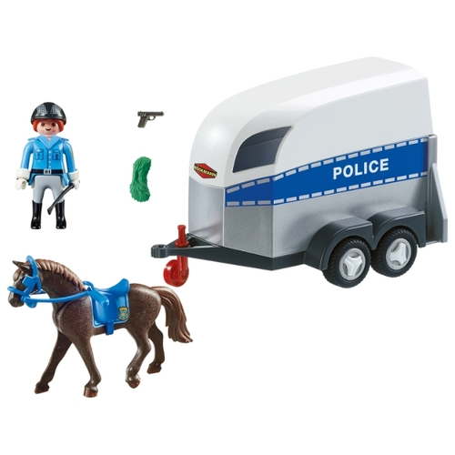 Набор с элементами конструктора Playmobil City Action 6922 Конная полиция