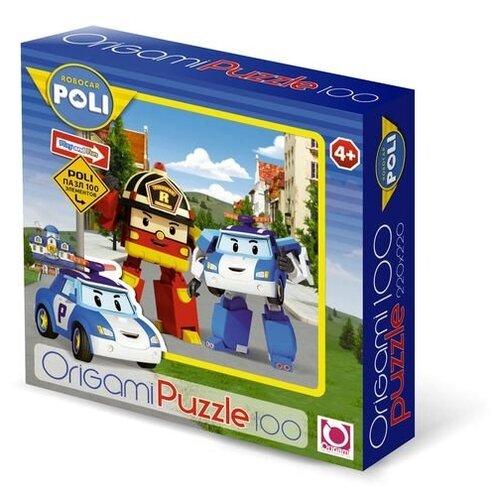 Купить Пазл Origami Robocar Poli (05896), 100 дет., Пазлы