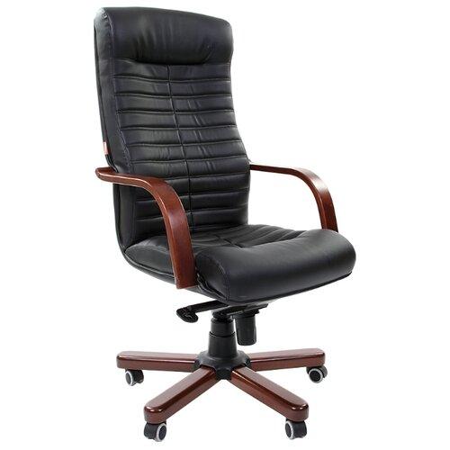 Фото - Компьютерное кресло Chairman 480 WD для руководителя, обивка: искусственная кожа, цвет: черный компьютерное кресло chairman 668 lt для руководителя обивка искусственная кожа цвет черный бежевый