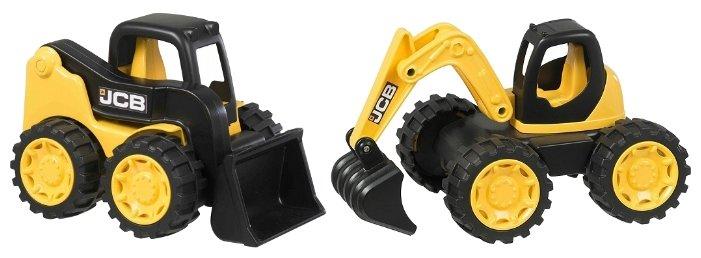 HTI Игровой набор строительной техники JCB экскаватор и мини-погрузчик 1416460.UNI