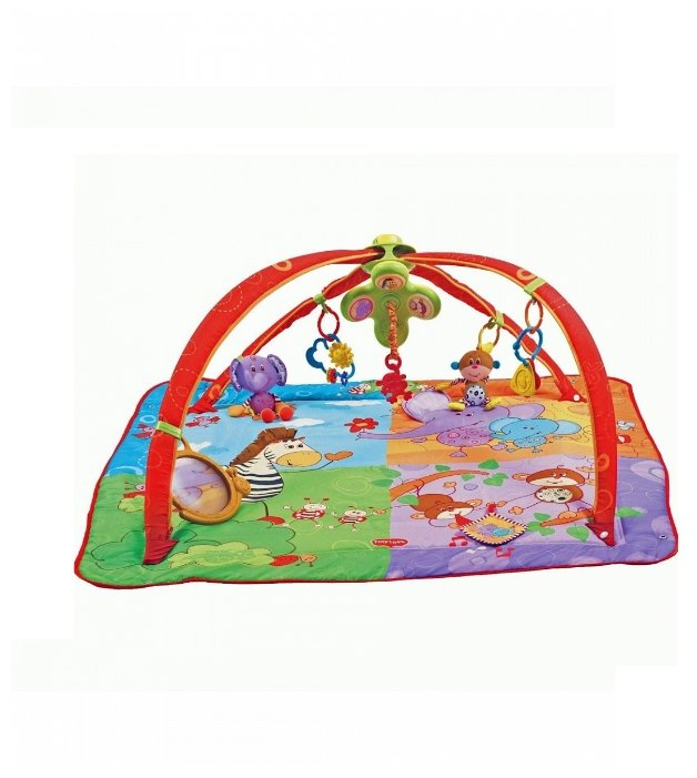 Развивающий коврик Tiny Love Разноцветное сафари (1201806830)