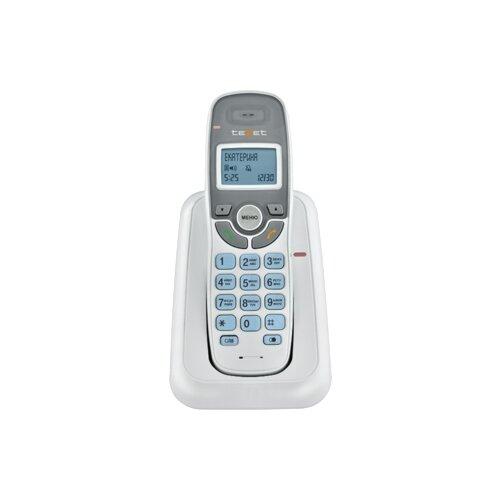 Радиотелефон teXet TX-D6905A белый радиотелефон