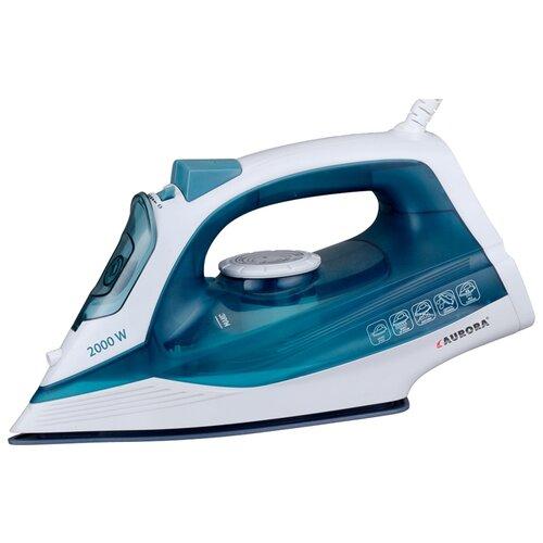 цена на Утюг AURORA AU 3154 синий/белый