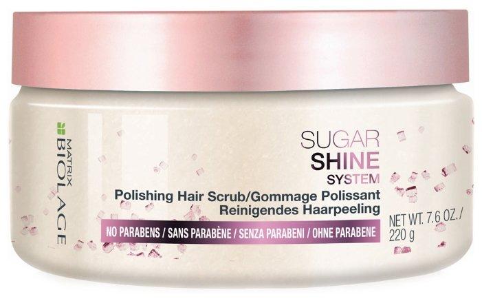 Biolage Скраб полирующий для блеска волос Sugar
