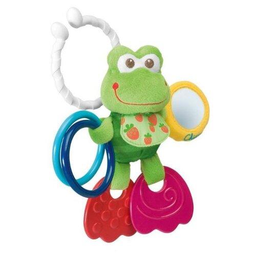 Купить Подвесная игрушка Chicco Лягушонок подвижный (0906) зеленый, Подвески