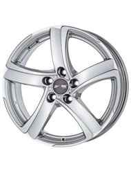 Диск Alutec Shark 7,5x17/5x114,3 ЕТ47 D70,1 Racing black front polished - фото 1