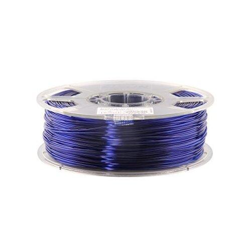 Фото - PETG пруток ESUN 1.75 мм, 1 кг, синий pla пруток esun 1 75 мм желтый 1 кг