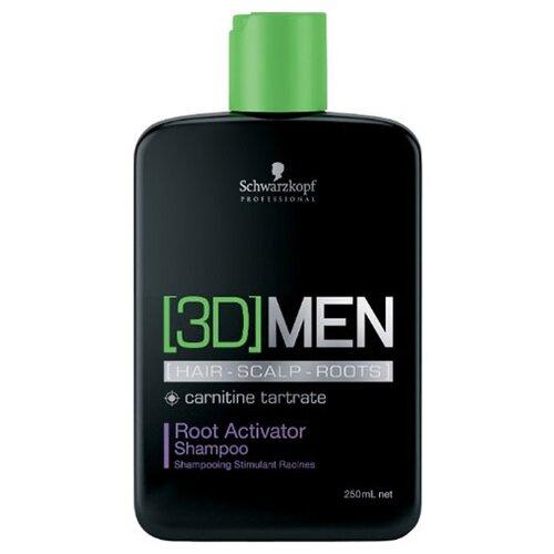 [3D]Men шампунь Root Activator 250 мл