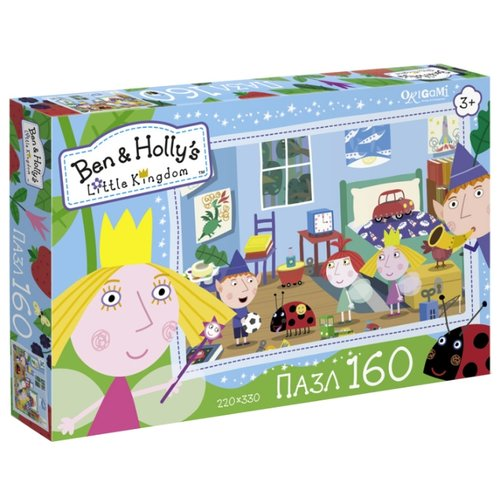 Пазл Origami Ben & Holly's Little Kingdom Давай играть (02862), 160 дет.