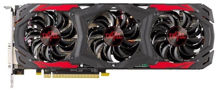 PowerColor Видеокарта PowerColor Radeon RX 570 1320Mhz PCI-E 3.0 4096Mb 7000Mhz 256 bit DVI HDMI HDCP Red Devil