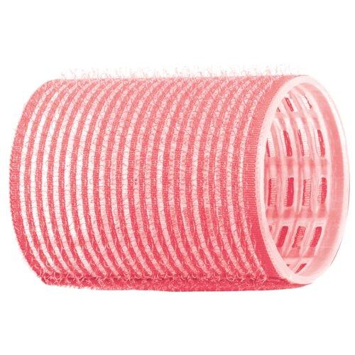 Фото - Бигуди-липучки DEWAL R-VTR2 (44 мм) 12 шт. розовые бигуди розовые из высококачественного мягкого пластика 2шт уп
