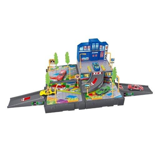 Dave Toy Игровой набор Полицейский участок 32024 синий/серый/желтый dave lemay quest for freedom