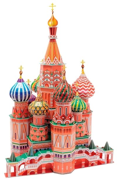 3D-пазл CubicFun Собор Василия Блаженного (MC093h), 214 дет.