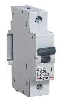 Автоматический выключатель Legrand RX3 1P (C) 4,5kA