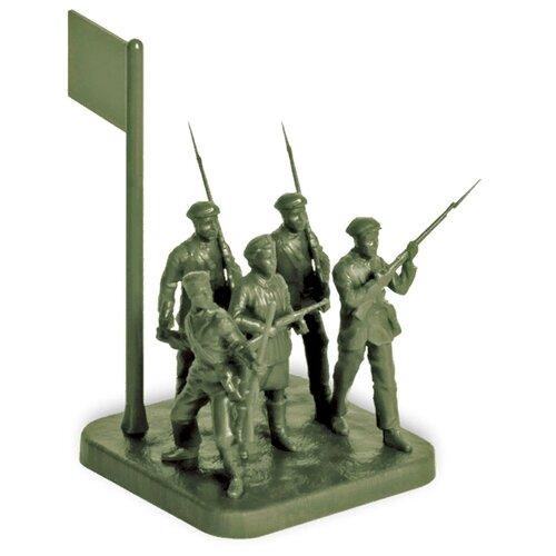 Фото - Сборная модель ZVEZDA Советское ополчение 1941 (6181) 1:72 сборная модель zvezda немецкая пехота в зимней форме 1941 1945 6198 1 72