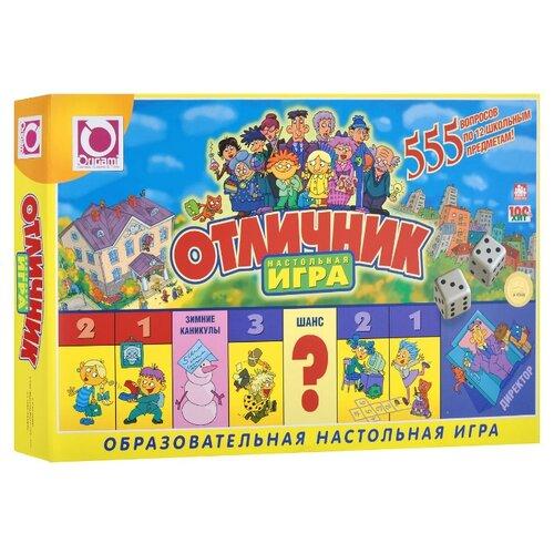 Настольная игра Origami Отличник полуботинки отличник
