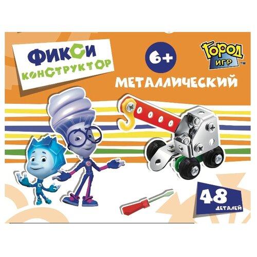 Винтовой конструктор Город Игр Фикси металлический 6392 Кран