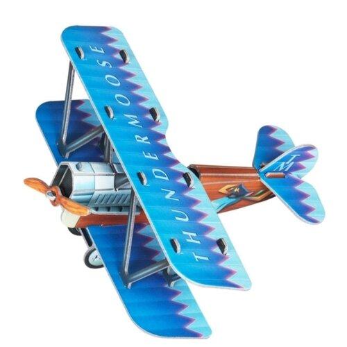 Сборная модель Умная Бумага Самолетик (синий) (404-2)Сборные модели<br>