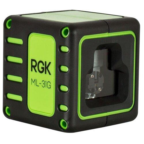 Лазерный уровень самовыравнивающийся RGK ML-31G (4610011873263) уровень rgk u4100 1м