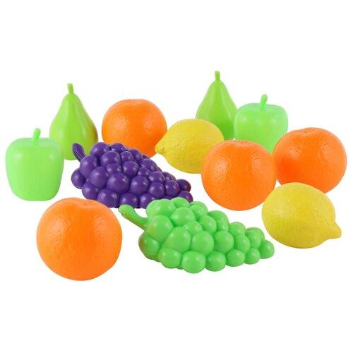 Купить Набор продуктов Полесье №4 46994 разноцветный, Игрушечная еда и посуда