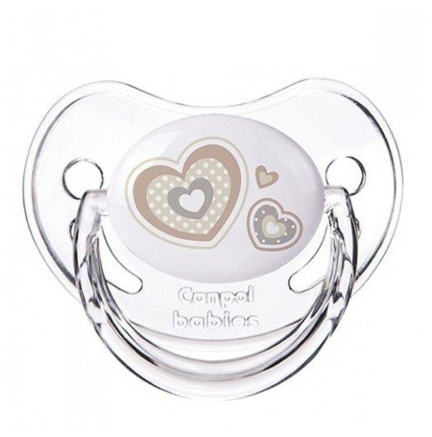 Пустышка силиконовая ортодонтическая Canpol Babies Newborn Baby 0-6 м (1 шт.)