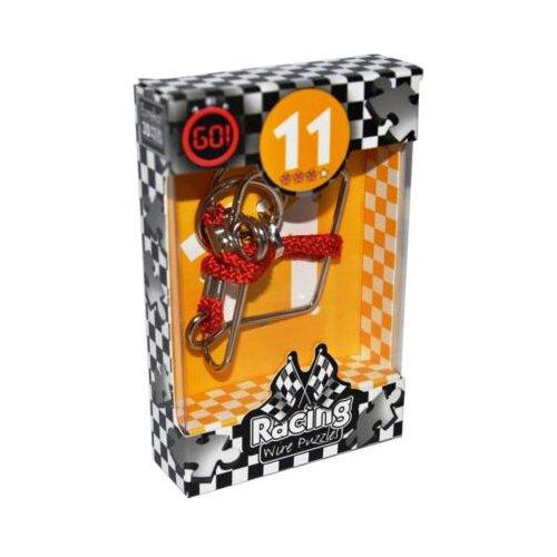 Купить Головоломка Eureka 3D Puzzle Racing Wire Puzzles 11 сложность 3 (473281) серый, Головоломки