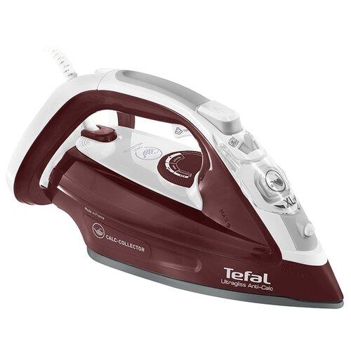 цена на Утюг Tefal FV4961 Ultragliss бордовый/белый/серый
