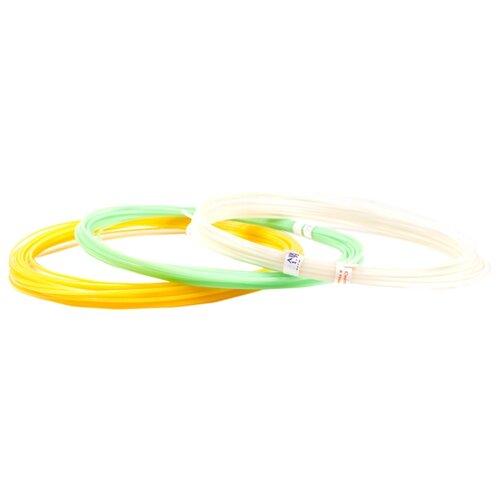 ABS-F пруток UNID 1.75 мм 3 цвета 0.1 кг