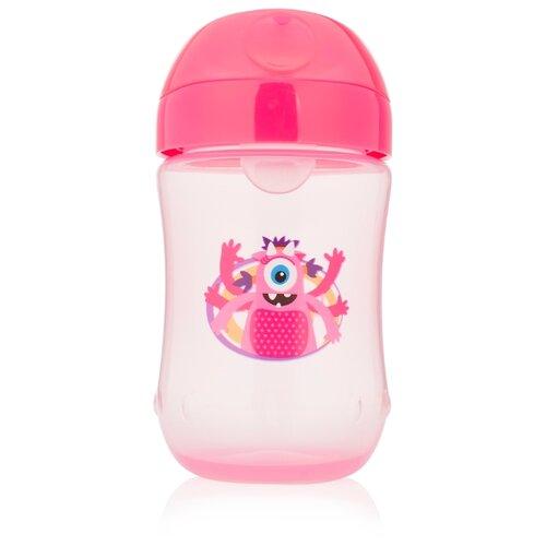 Купить Поильник-непроливайка Dr. Brown s Soft-Spout Toddler Cup TC91003/TC91004, 270 мл розовый, Dr. Brown's, Поильники
