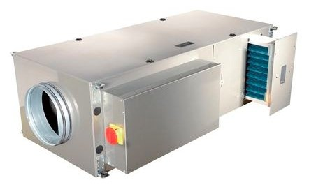Вентиляционная установка 2VV ALFA-C-20WC-DP2