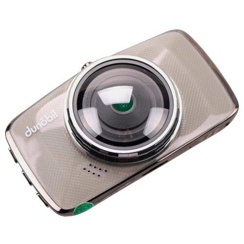 Видеорегистратор Dunobil Chrom Duo, 2 камеры черный/серый