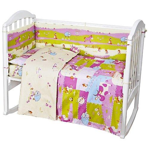 цена на Baby Nice борт Ферма розовый
